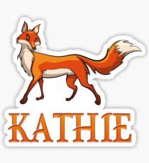 Kathie Fox Sticker