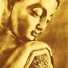 Golden Buddha by Madeleine Forsberg