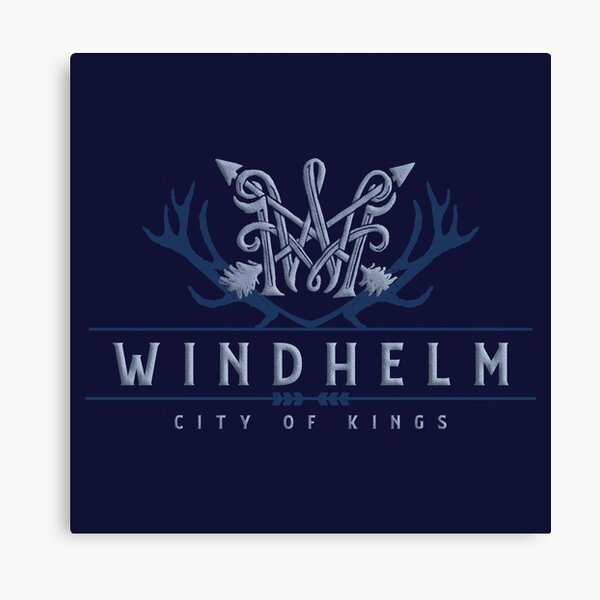 Windhelm Skyrim Canvas Print