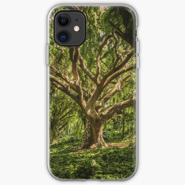Green Tree iPhone Soft Case