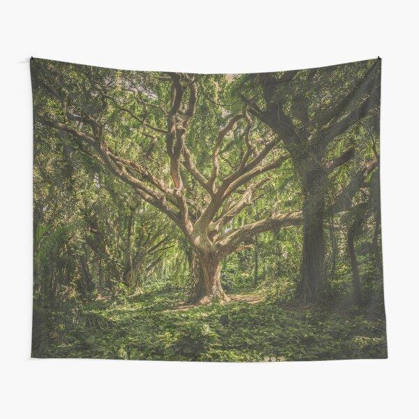 Green Tree Tapestry