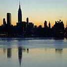 New York City Reflections by Extraordinary Light