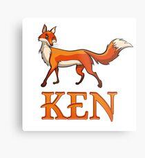 Lámina metálica Ken Fox