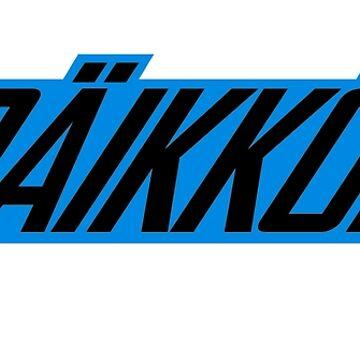 2018 - Raikkonen 7 logo by evenstarsaima