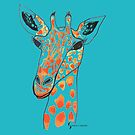Giraffe © feathers & eggshells - wild new things are born by wildnewthings