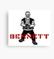 BENNETT! Canvas Print