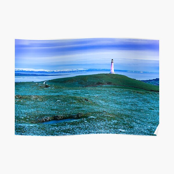 Hoad Blue Hour Poster