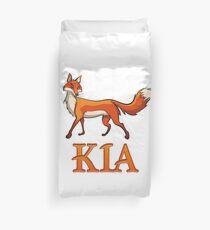 Kia Fox Duvet Cover