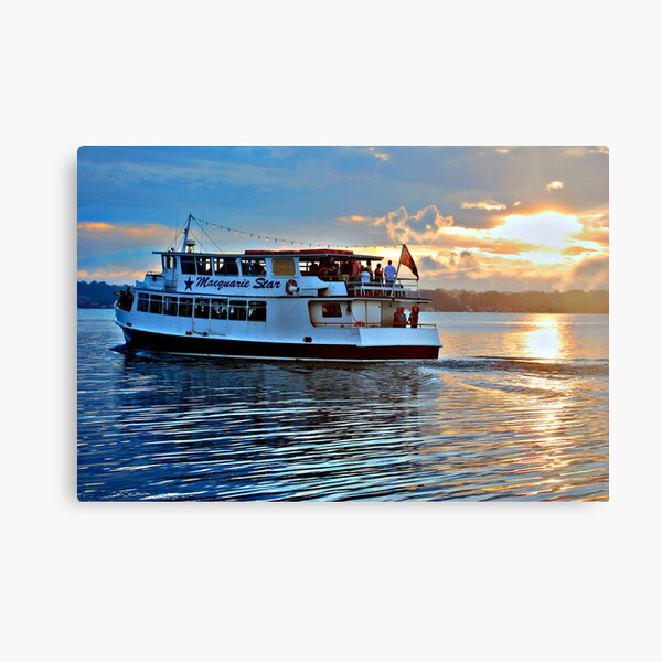 The Macquarie Princess - Lake Macquarie NSW Canvas Print
