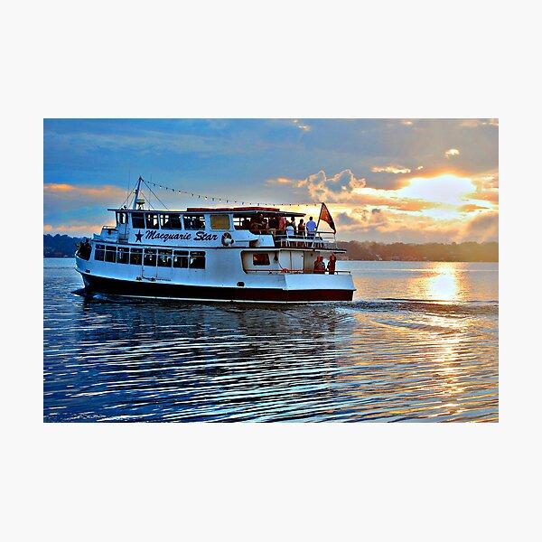 The Macquarie Princess - Lake Macquarie NSW Photographic Print