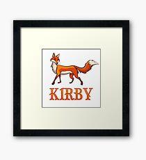 Kirby Fox Framed Print