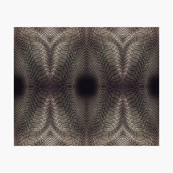 technopunk, futurism, victorian, style, art, bondage, steampunk, skin, pattern Photographic Print