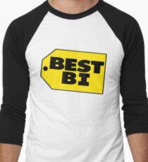 Best Bi - Parody Men's Baseball ¾ T-Shirt