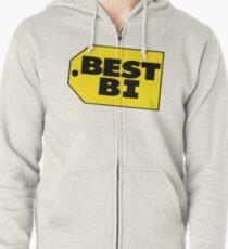 Best Bi - Parody Zipped Hoodie
