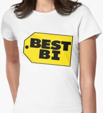 Best Bi - Parody Women's Fitted T-Shirt