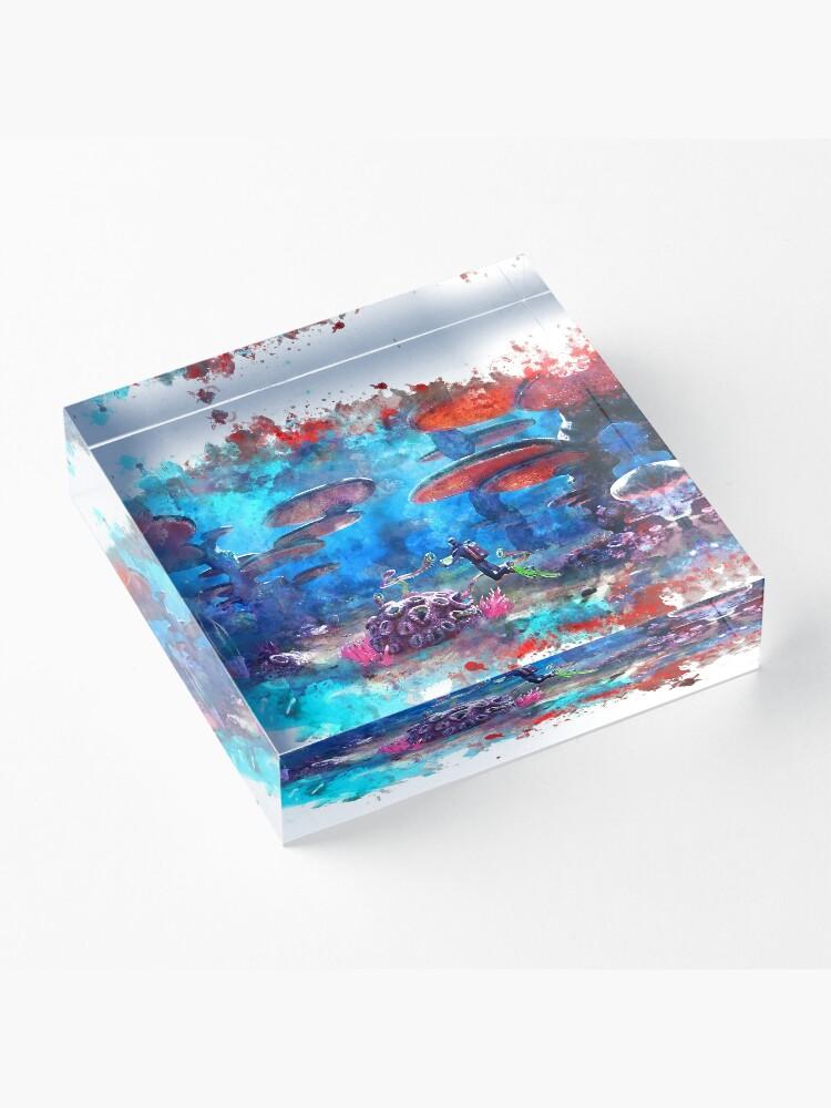 Alternate view of Subnautica Acrylic Block