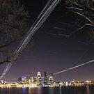 Louisville Kentucky Skyline by LizzieMorrison