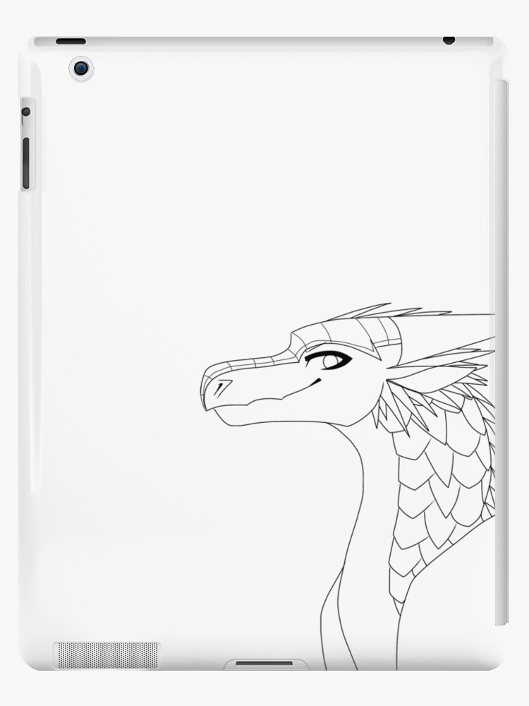 Color It In Icewing Ipad Cases Skins By Sahel Solitude