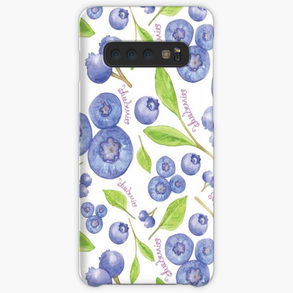 fresh blueberries Samsung Galaxy Snap Case