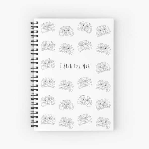 Shih Tzu Love Spiral Notebook
