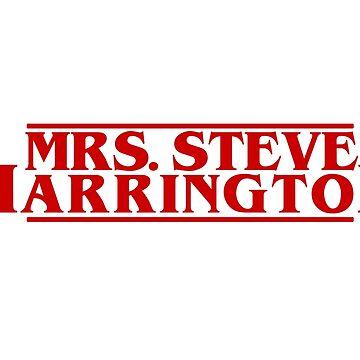 MRS. STEVE HARRINGTON Stranger Things red Valentines valentine by starkle