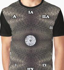 skin pattern, diamond, brilliant, rock, adamant, minikin, watch face, clock face Graphic T-Shirt