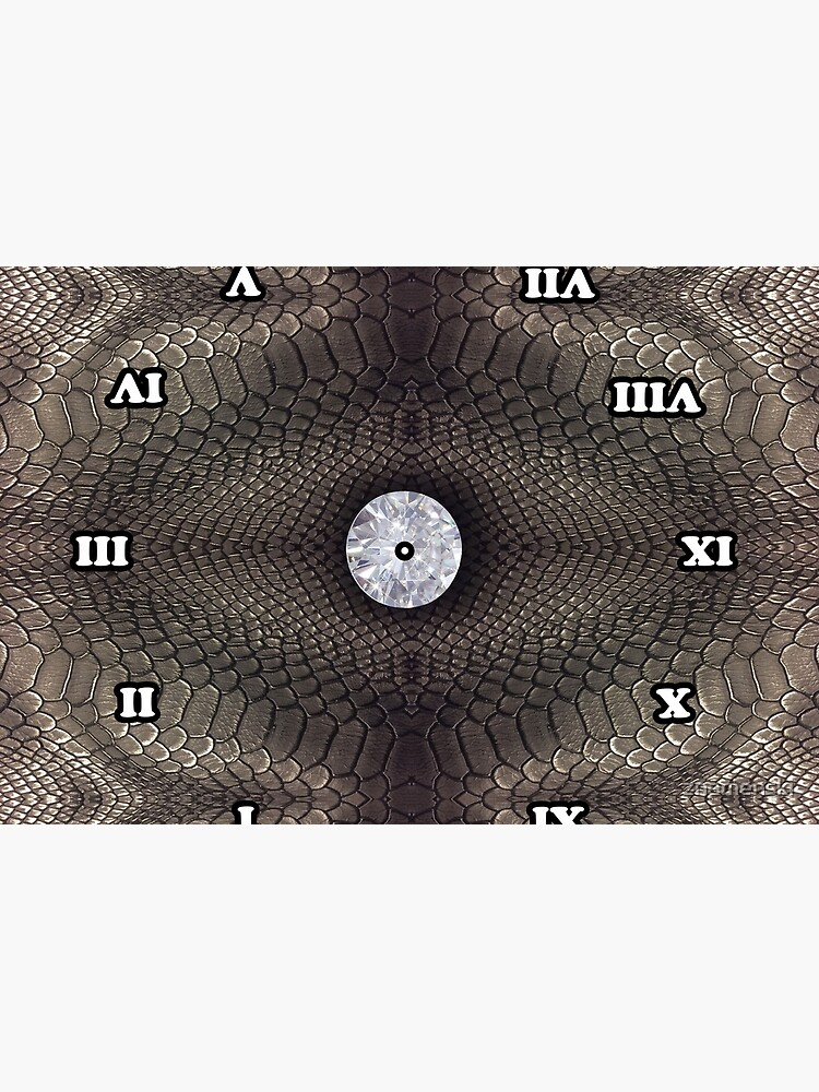 skin pattern, diamond, brilliant, rock, adamant, minikin, watch face, clock face by znamenski