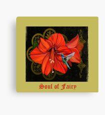 Soul of Fairy Hummingbird by Chris DiSano Canvas Print