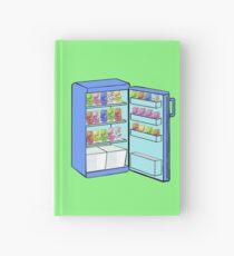 Fridge Full of Happiness  Hardcover Journal