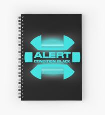 Black Alert - Star Trek Discovery Spiral Notebook