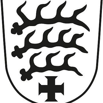 Sindelfingen coat of arms, Germany by PZAndrews