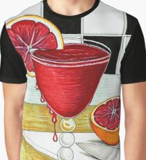 Bloody Good Drink Graphic T-Shirt