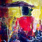 Have You Ever Seen the Rain 2, Creedence, original Abstract by Dmitri Matkovsky