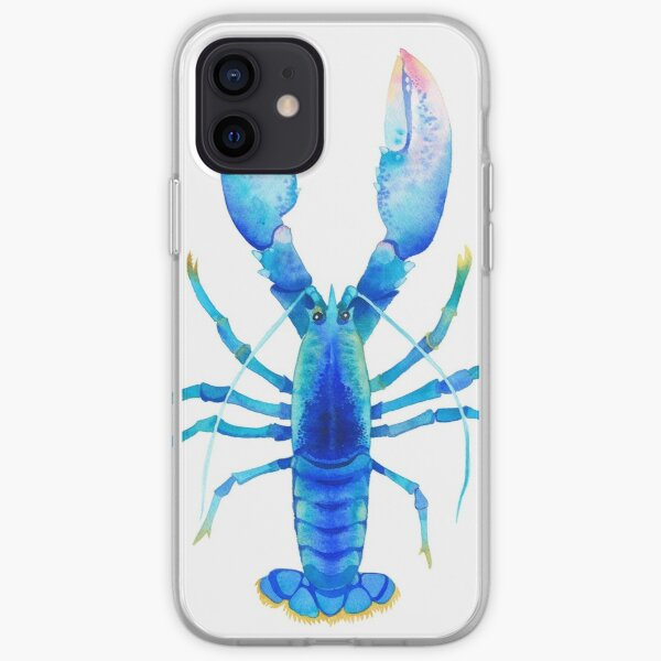 Blue Lobster №2 iPhone Soft Case