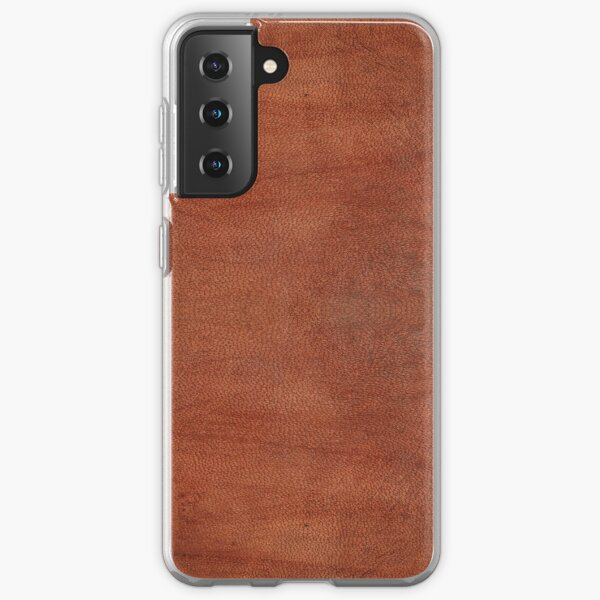 skin, skin pattern, diamond, brilliant, rock, adamant, minikin, watch face, clock face, brown leather, leather  Samsung Galaxy Soft Case
