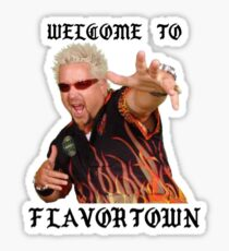 Welcome to Flavortown Sticker