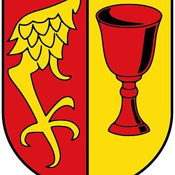 Gärtringen coat of arms, Germany by PZAndrews
