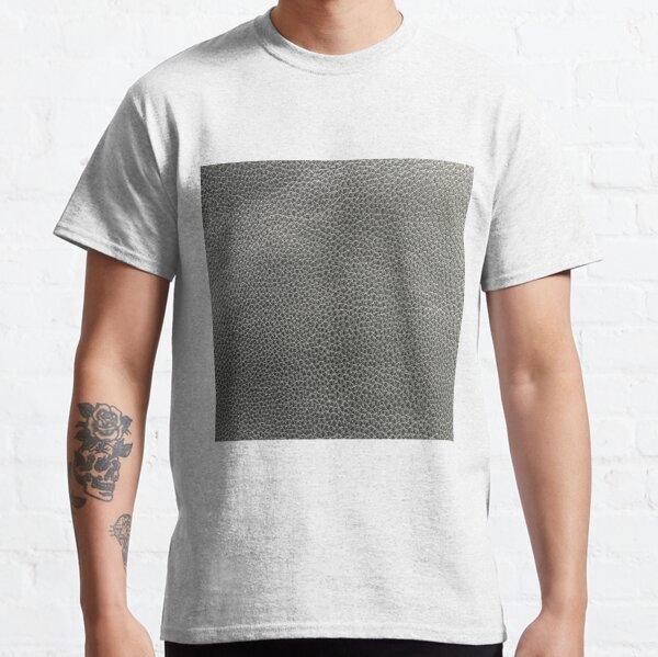 skin, skin pattern, diamond, brilliant, rock, adamant, minikin, watch face, clock face, brown leather, leather, asphalt Classic T-Shirt