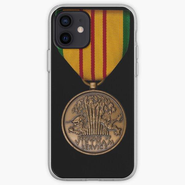 Vietnam Service Medal iPhone Soft Case