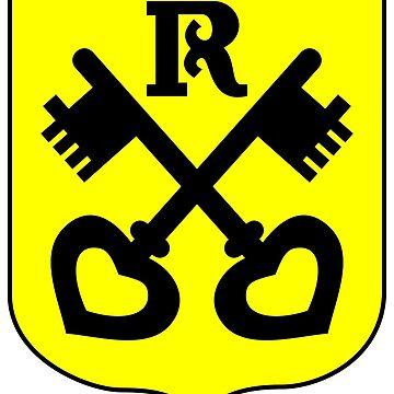 Renningen coat of arms, Germany by PZAndrews