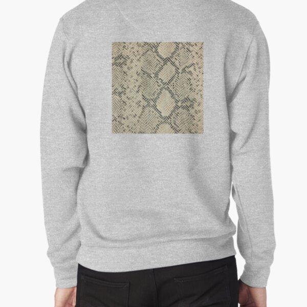 minikin, watch face, clock face, brown leather, leather, asphalt Pullover Sweatshirt