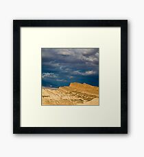 Stormy Sunrise Framed Print