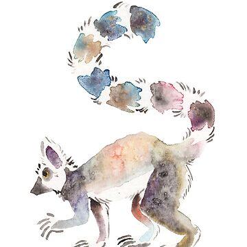 Splotchy Lemur by Temrin