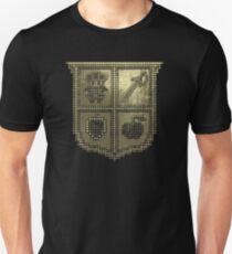 3D DOT GOLD SHIELD Unisex T-Shirt