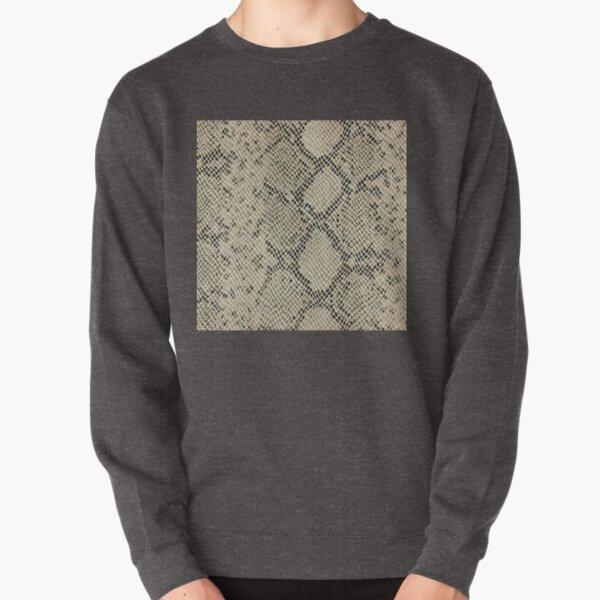 , adamant, minikin, watch face, clock face, brown leather, leather, asphalt Pullover Sweatshirt