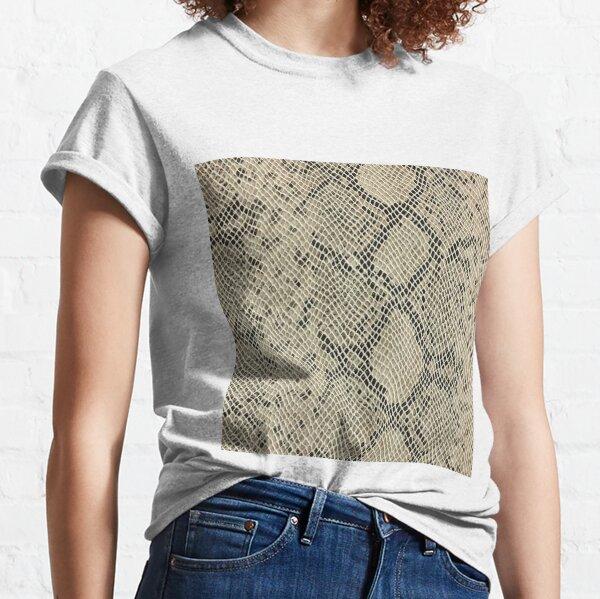 , adamant, minikin, watch face, clock face, brown leather, leather, asphalt Classic T-Shirt