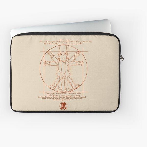 Vitruvian Layton Laptop Sleeve