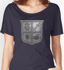 3D DOT SILVER SHIELD Women's Relaxed Fit T-Shirt
