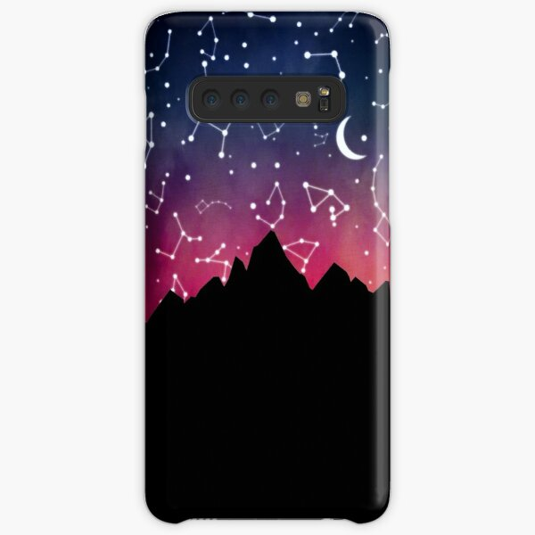 A Stargazing Sunset Samsung Galaxy Snap Case
