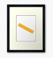 Ruler Framed Print